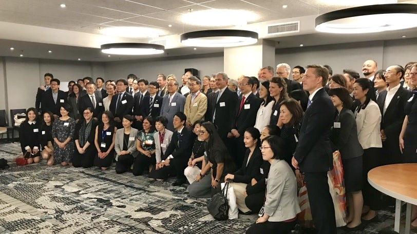 cgs at japan climate initiative event